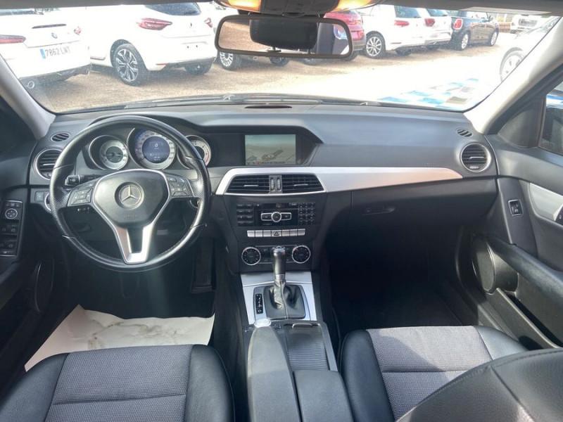 Mercedes Classe C 220 SW 220 CDI Avantgarde Executive 7G-Tronic + Noir occasion à Saïx - photo n°16