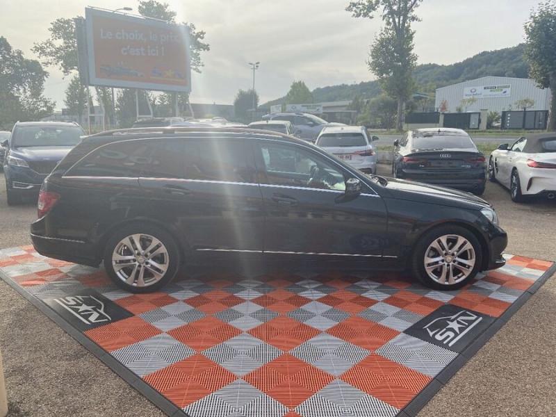 Mercedes Classe C 220 SW 220 CDI Avantgarde Executive 7G-Tronic + Noir occasion à Saïx - photo n°10