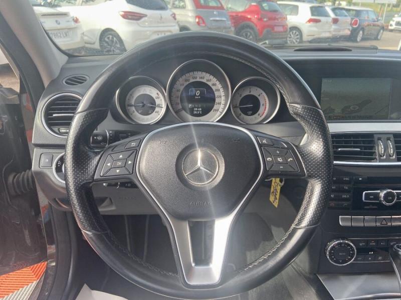 Mercedes Classe C 220 SW 220 CDI Avantgarde Executive 7G-Tronic + Noir occasion à Saïx - photo n°13