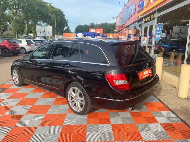 Mercedes Classe C 220 SW 220 CDI Avantgarde Executive 7G-Tronic + Noir occasion à Saïx - photo n°2