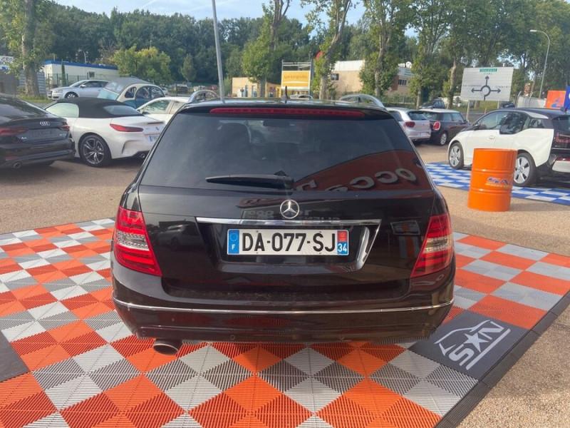 Mercedes Classe C 220 SW 220 CDI Avantgarde Executive 7G-Tronic + Noir occasion à Saïx - photo n°20