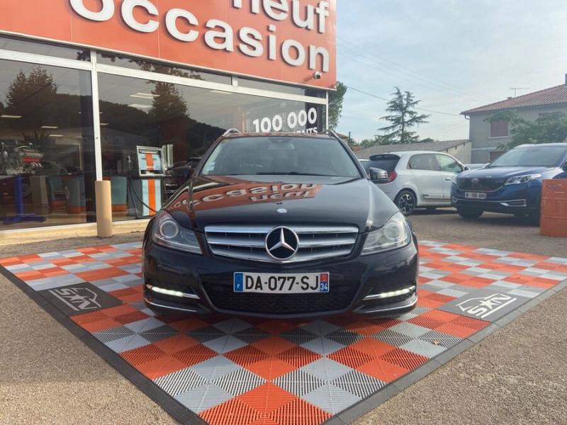 Mercedes Classe C 220 SW 220 CDI Avantgarde Executive 7G-Tronic + Noir occasion à Saïx - photo n°19