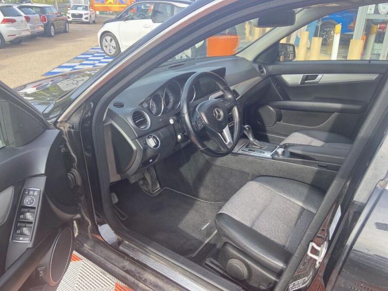 Mercedes Classe C 220 SW 220 CDI Avantgarde Executive 7G-Tronic + Noir occasion à Saïx - photo n°3