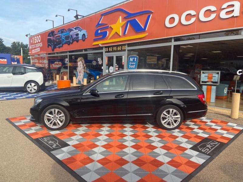 Mercedes Classe C 220 SW 220 CDI Avantgarde Executive 7G-Tronic + Noir occasion à Saïx - photo n°5