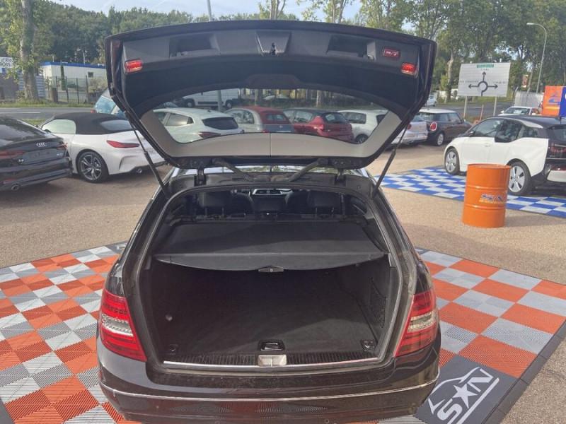 Mercedes Classe C 220 SW 220 CDI Avantgarde Executive 7G-Tronic + Noir occasion à Saïx - photo n°6