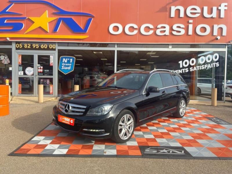 Mercedes Classe C 220 SW 220 CDI Avantgarde Executive 7G-Tronic + Noir occasion à Saïx