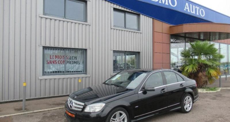 Mercedes Classe C 250 250 CDI avantgarde pack amg Noir occasion à Saint Parres Aux Tertres