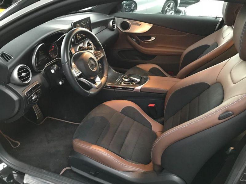 Mercedes Classe C 250 250 coupé AMG Noir occasion à Beaupuy - photo n°4