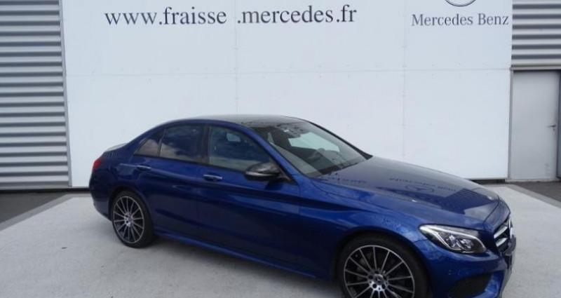 Mercedes Classe C 250 250 d Fascination 4Matic 9G-Tronic Bleu occasion à Saint-germain-laprade - photo n°2