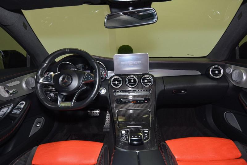 Mercedes Classe C 63 AMG (C205) 63 AMG 476CH SPEEDSHIFT MCT Noir occasion à Quimper - photo n°5