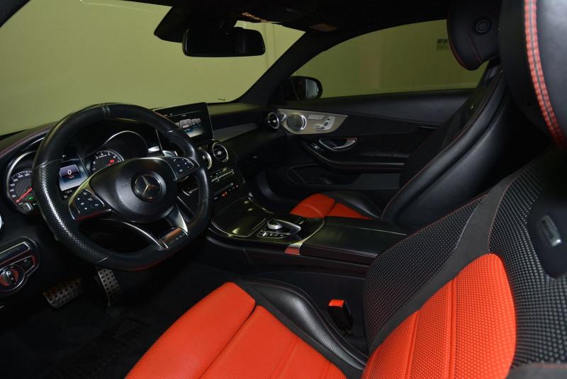 Mercedes Classe C 63 AMG (C205) 63 AMG 476CH SPEEDSHIFT MCT Noir occasion à Quimper - photo n°3