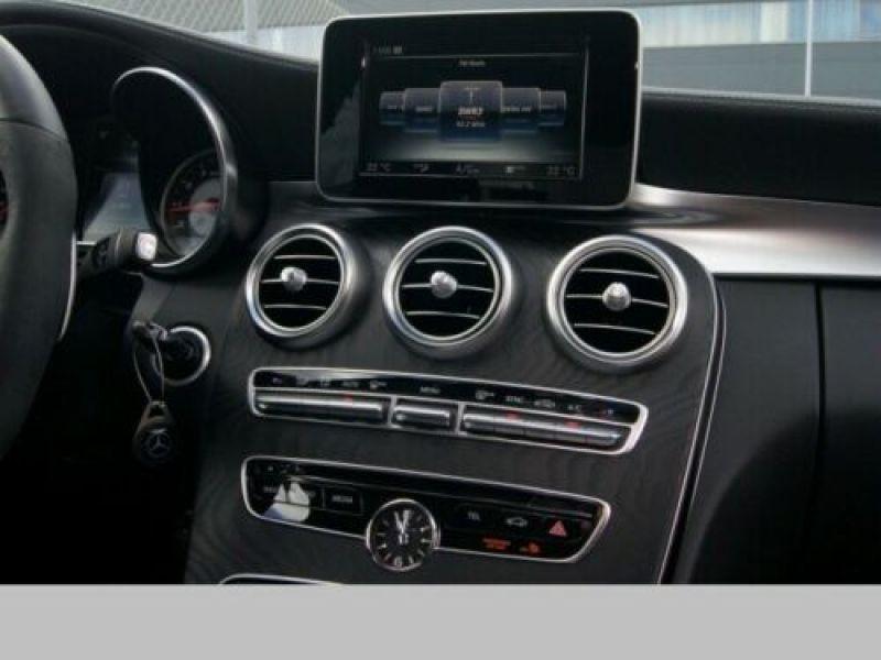 Mercedes Classe C 63 AMG C63 S Noir occasion à Beaupuy - photo n°8