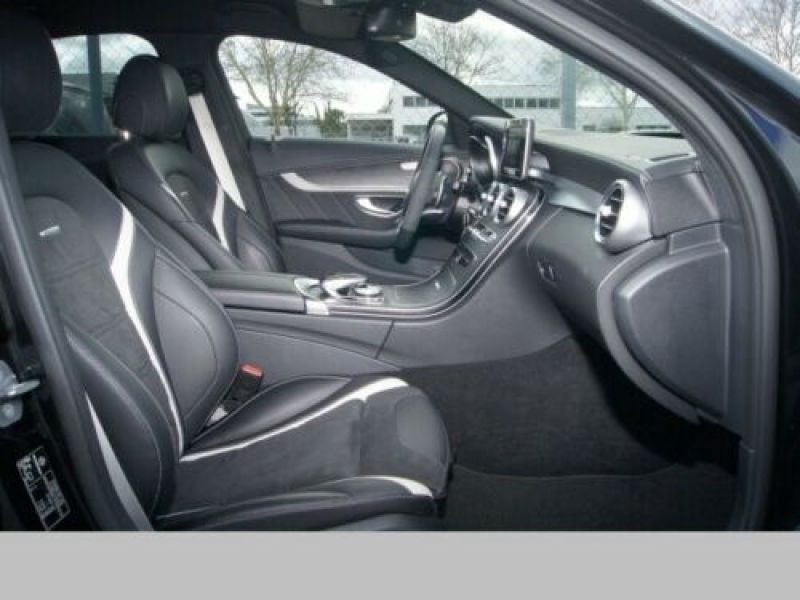 Mercedes Classe C 63 AMG C63 S Noir occasion à Beaupuy - photo n°4