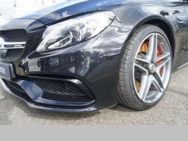 Mercedes Classe C 63 AMG C63 S Noir occasion à Beaupuy - photo n°9
