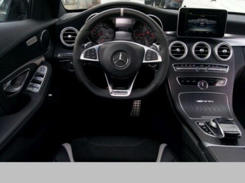 Mercedes Classe C 63 AMG C63 S Noir occasion à Beaupuy - photo n°2