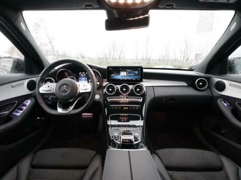 Mercedes Classe C (W205) 300 E 211+122CH AMG LINE 9G-TRONIC Blanc occasion à Villenave-d'Ornon - photo n°2