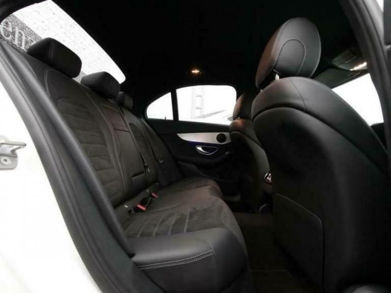Mercedes Classe C (W205) 300 E 211+122CH AMG LINE 9G-TRONIC Blanc occasion à Villenave-d'Ornon - photo n°7