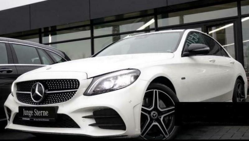 Mercedes Classe C (W205) 300 E 211+122CH AMG LINE 9G-TRONIC Blanc occasion à Villenave-d'Ornon - photo n°3