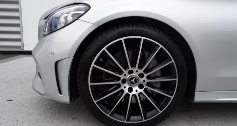 Mercedes Classe C 300 d 245ch AMG Line 4Matic 9G-Tronic Gris occasion à Saint-germain-laprade - photo n°6
