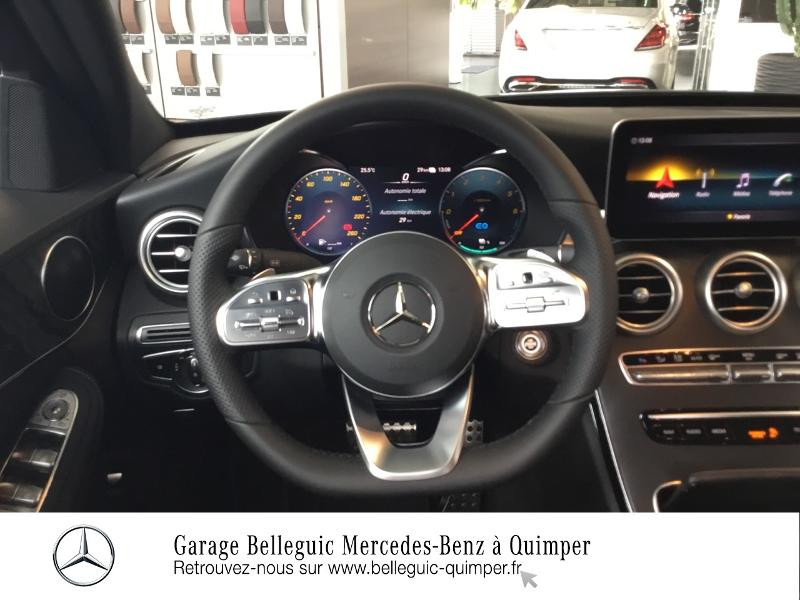Mercedes Classe C 300 de 194+122ch AMG Line 9G-Tronic Noir occasion à QUIMPER - photo n°7