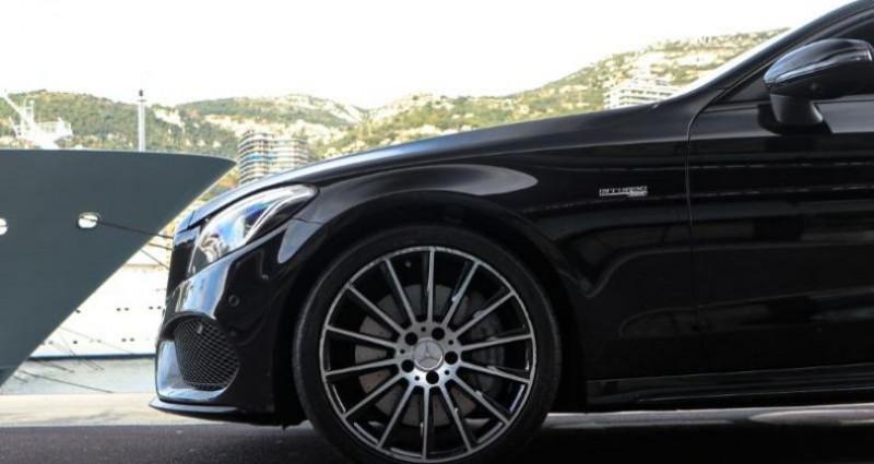 Mercedes Classe C Coupe 43 AMG 367ch 4Matic 9G-Tronic Noir occasion à MONACO - photo n°7