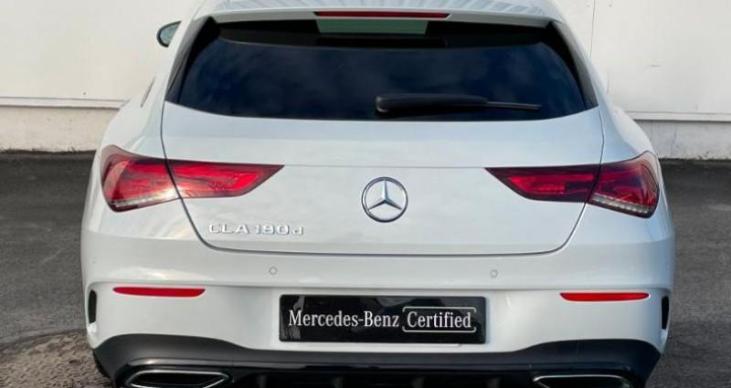 Mercedes Classe CLA Shooting brake 180 d 116ch AMG Line 7G-DCT Blanc occasion à Cambrai - photo n°5