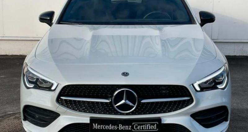 Mercedes Classe CLA Shooting brake 180 d 116ch AMG Line 7G-DCT Blanc occasion à Cambrai - photo n°4