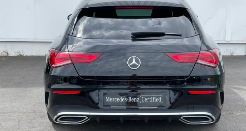 Mercedes Classe CLA Shooting brake 180 d 116ch AMG Line 7G-DCT Noir occasion à Douai - photo n°6
