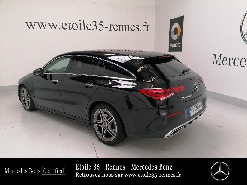 Mercedes Classe CLA Shooting brake 180 d 116ch AMG Line 7G-DCT Noir occasion à SAINT-GREGOIRE - photo n°3