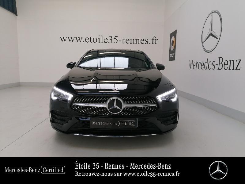Mercedes Classe CLA Shooting brake 180 d 116ch AMG Line 7G-DCT Noir occasion à SAINT-GREGOIRE - photo n°5