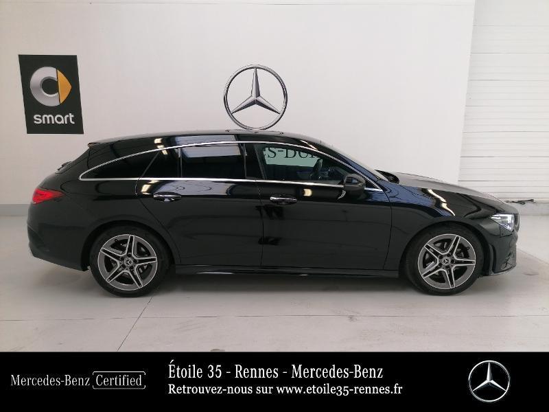 Mercedes Classe CLA Shooting brake 180 d 116ch AMG Line 7G-DCT Noir occasion à SAINT-GREGOIRE - photo n°4
