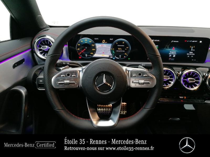 Mercedes Classe CLA Shooting brake 180 d 116ch AMG Line 7G-DCT Noir occasion à SAINT-GREGOIRE - photo n°7