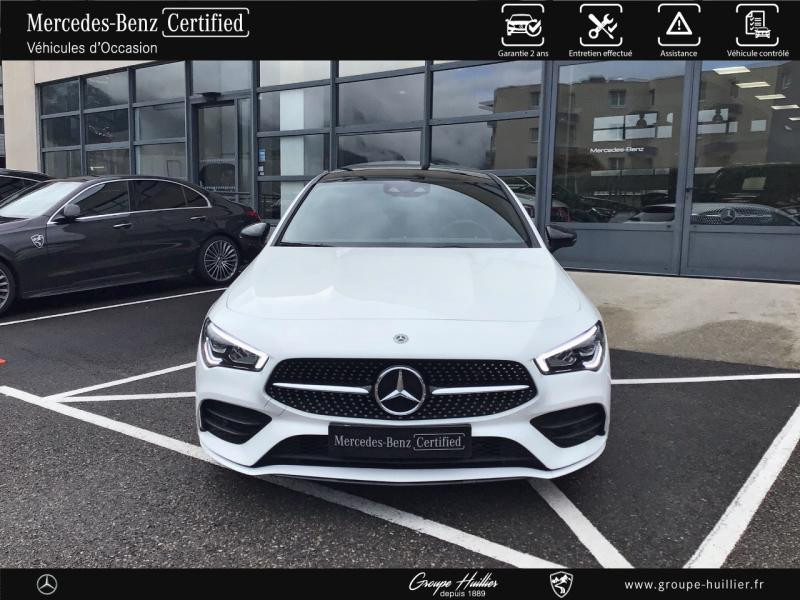Mercedes Classe CLA Shooting brake 180 d 116ch AMG Line 7G-DCT Blanc occasion à Gières - photo n°5