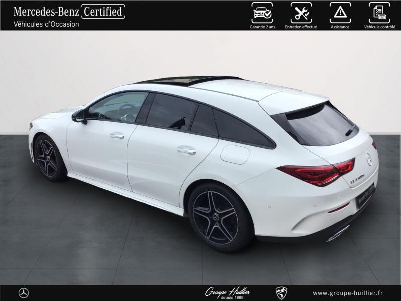 Mercedes Classe CLA Shooting brake 180 d 116ch AMG Line 7G-DCT Blanc occasion à Gières - photo n°3