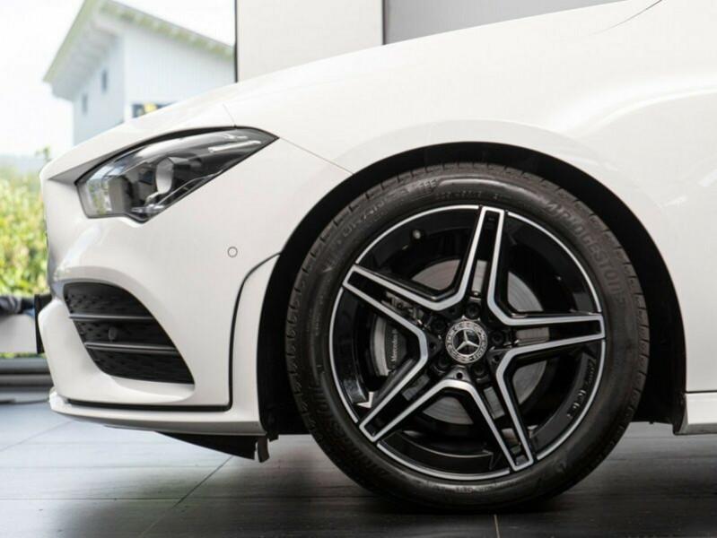 Mercedes Classe CLA Shooting brake 180 D 2.0 116CH AMG LINE 7G-DCT Blanc occasion à Villenave-d'Ornon - photo n°6