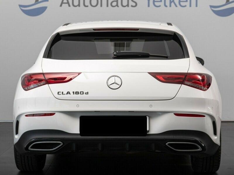 Mercedes Classe CLA Shooting brake 180 D 2.0 116CH AMG LINE 7G-DCT Blanc occasion à Villenave-d'Ornon - photo n°5
