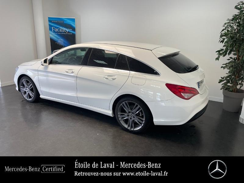 Mercedes Classe CLA Shooting brake 180 d Inspiration 7G-DCT Blanc occasion à BONCHAMP-LES-LAVAL - photo n°3