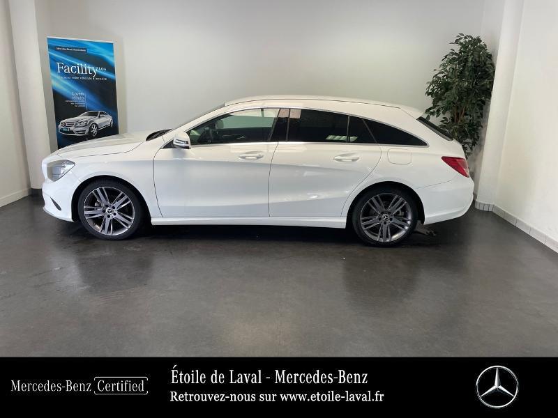 Mercedes Classe CLA Shooting brake 180 d Inspiration 7G-DCT Blanc occasion à BONCHAMP-LES-LAVAL - photo n°2