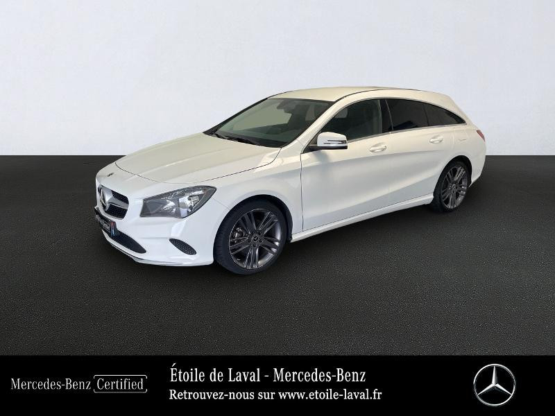 Mercedes Classe CLA Shooting brake 180 d Inspiration 7G-DCT Blanc occasion à BONCHAMP-LES-LAVAL