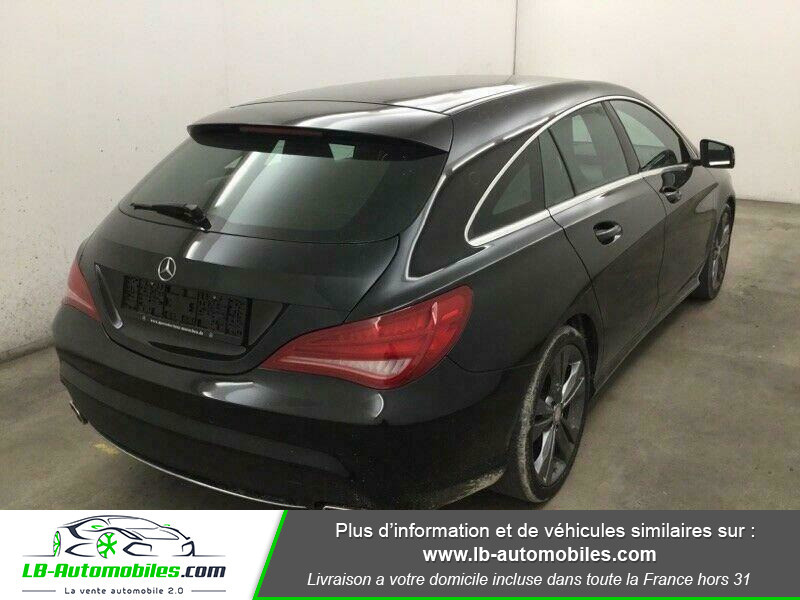 Mercedes Classe CLA Shooting brake 180 Shooting Brake Noir occasion à Beaupuy - photo n°3