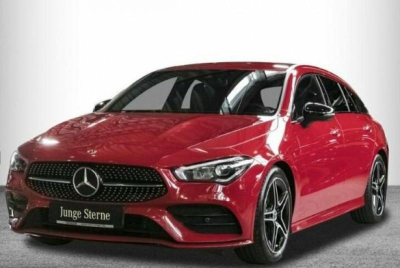 Mercedes Classe CLA Shooting brake 200 D 150CH AMG LINE 8G-DCT 8CV Rouge occasion à Villenave-d'Ornon