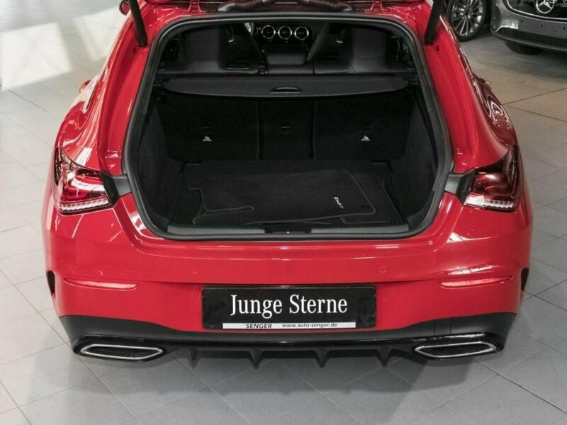 Mercedes Classe CLA Shooting brake 200 D 150CH AMG LINE 8G-DCT 8CV Rouge occasion à Villenave-d'Ornon - photo n°8
