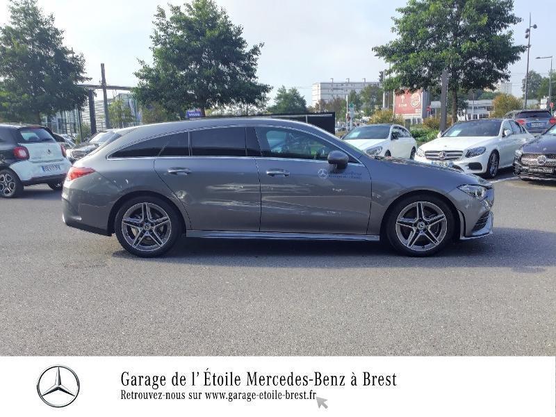 Mercedes Classe CLA Shooting brake 200 d 150ch AMG Line 8G-DCT Gris occasion à Saint Martin des Champs - photo n°4