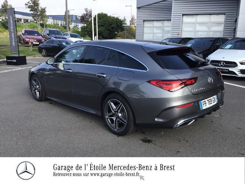 Mercedes Classe CLA Shooting brake 200 d 150ch AMG Line 8G-DCT Gris occasion à Saint Martin des Champs - photo n°3