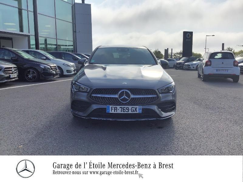 Mercedes Classe CLA Shooting brake 200 d 150ch AMG Line 8G-DCT Gris occasion à Saint Martin des Champs - photo n°5