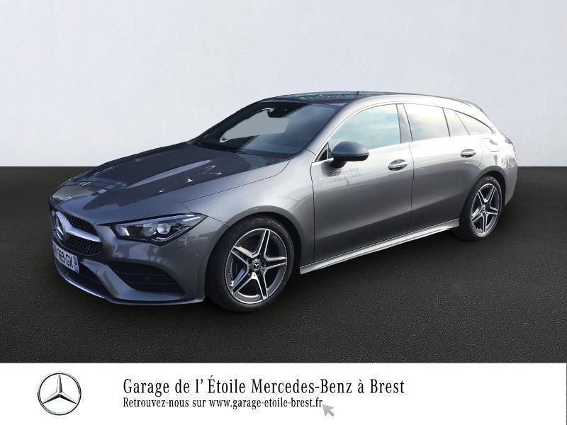 Mercedes Classe CLA Shooting brake 200 d 150ch AMG Line 8G-DCT Gris occasion à Saint Martin des Champs