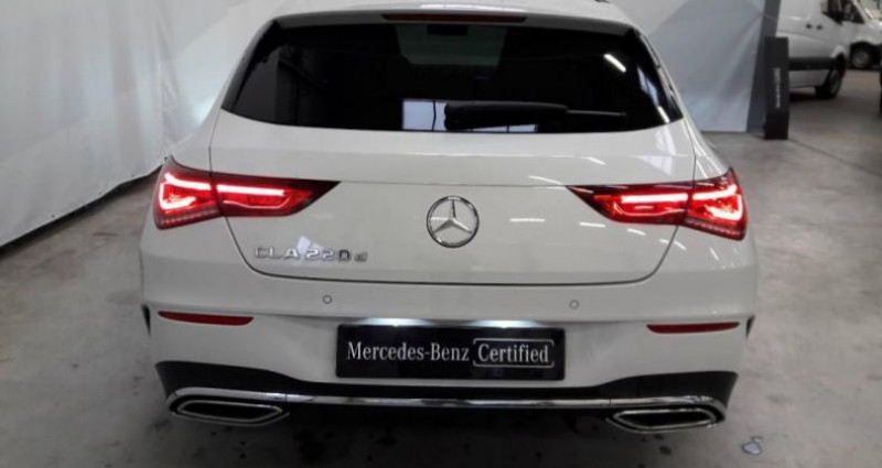 Mercedes Classe CLA Shooting brake 220 d 190ch AMG Line 8G-DCT Blanc occasion à Fontenay Sur Eure - photo n°4