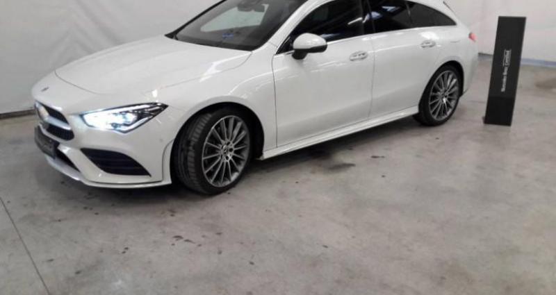 Mercedes Classe CLA Shooting brake 220 d 190ch AMG Line 8G-DCT Blanc occasion à Fontenay Sur Eure