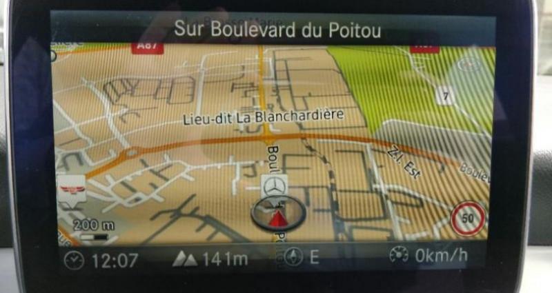 Mercedes Classe CLA 180 d Business Executive 7G-DCT Noir occasion à Cholet - photo n°5