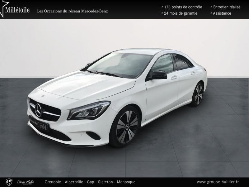 Mercedes Classe CLA 200 d Sensation 4Matic 7G-DCT Euro6c Blanc occasion à Gières